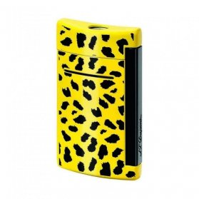 accendino dupont minijet leopard 010074